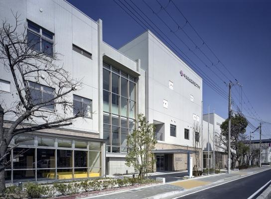 尼崎市立中央北生涯学習プラザ が竣工しました