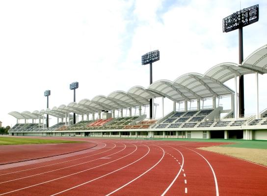 刈谷市総合運動公園スタンド